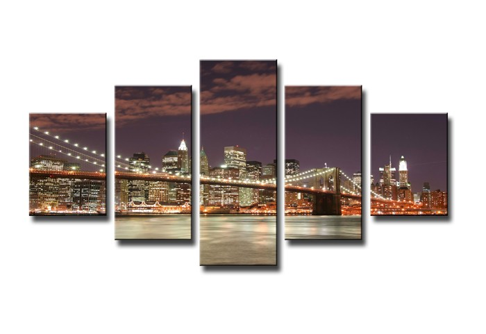 Lienzo Manhattan Skyline 160 x 80 cm